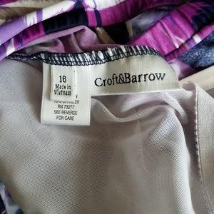 croft & barrow Swim - Croft & Barrow one piece swimsuit